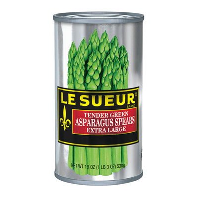 Le Sueur Tender Green Extra Large Asparagus Spears