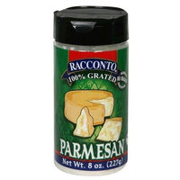 Racconto Grated Parmesan, 8-Ounce Shaker (Pack of 6)