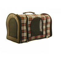 Creative Motion Carry Bag for Pet, Brown with Black Stripes
