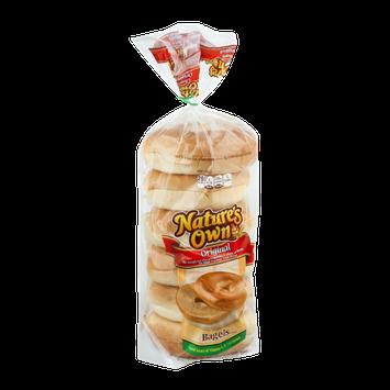 Nature's Own Bagels Original - 6 CT