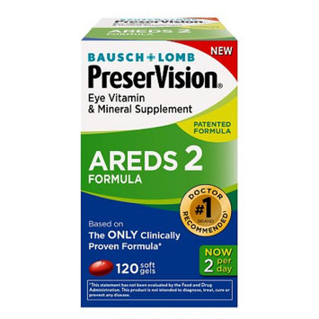 Preservision Bausch & Lomb PreserVision Areds 2 Eye Vitamin and Mineral Softgels -