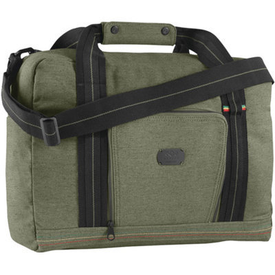 House of Marley House Of Marley Marley Lively Up Military Overnighter Bag