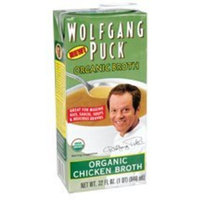 Wolfgang Puck, Organic Chicken Broth, 12/32 Oz