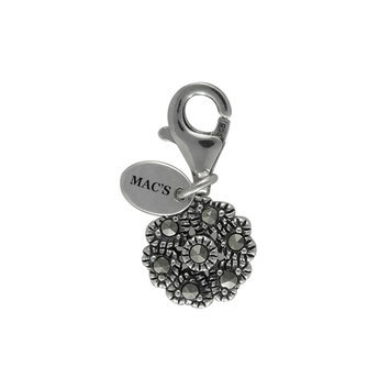 Mac's Fancy Flower Charm