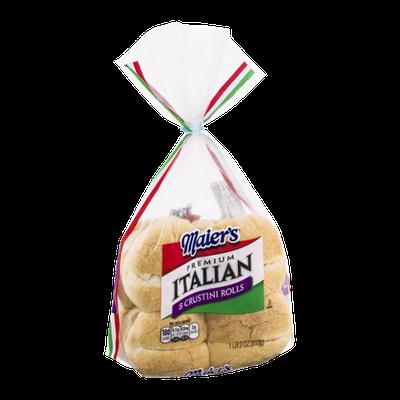 Maier's Premium Italian Crustini Rolls - 8 CT