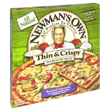 Newman's Own All Natural Thin & Crispy Roasted Vegetable Pizza