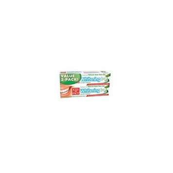 Kiss My Face Whitening Toothpaste Value Pack 3.4 oz. (Pack of 2)