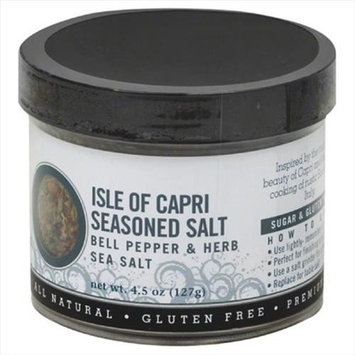 Urban Accents Seasoned Salt, Isle Of Capri, 5 Oz, Pack Of 6