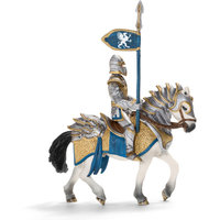 Schleich Griffin Knight Action Figure on Horse with Lance