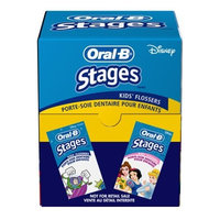 Oral-B Stages Floss, Kids Flossers Bag, 20-Count Bags (Pack of 24)