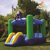 Jump Orange JumpOrange Kiddo Octopus Jump 'N' Slide Fun House