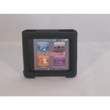 Oker Black Ipod Nano 6 6g Generation Silicon Skin Cover