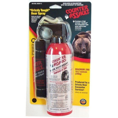 Counter Assault 371395 Bear Deterent 10.2 oz. with Holster
