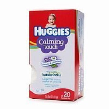 Huggies Calming Touch Disposable Washcloths Lavender & Chamomile 20 Each