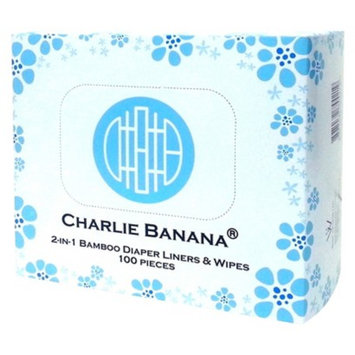 Charlie Banana Diaper Liners for Reusable Diapers - 100 Count