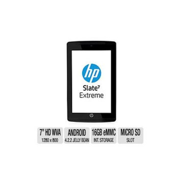 HP Slate 7 Extreme Business Tablet - Android 4.2.2 Jelly Bean, Nvidia Tegra 4A15 1.8GHz 4+1 Core, 7