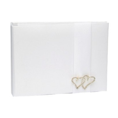 Hortense B. Hewitt With All My Heart Guestbook - White