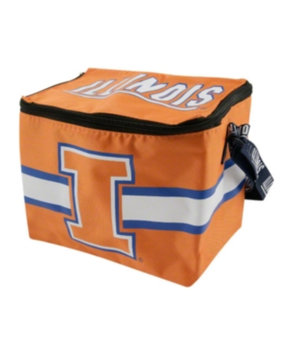 Forever Collectibles NCAA Zipper Lunch Bag NCAA Team: Illinois