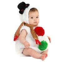 BuySeasons Baby Snowman Infant/Toddler Halloween Costume