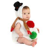 BuySeasons Baby Snowman Infant/Toddler Halloween Costume