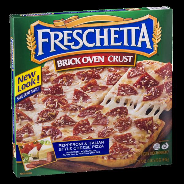 Freschetta Brick Oven Crust Pizza Pepperoni & Italian Style Cheese