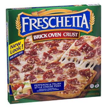 Freschetta Brick Oven Crust Pizza Pepperoni & Italian Style Cheese
