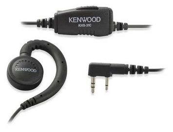 Kenwood Ear Loop Earpiece (Plstc/Metal, 38inL Cord). Model: KHS-31C