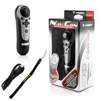 SNAKEBYTE Snakebyte Black Sony PS3 Playstation 3 MOVE NAV-CON Navigation Controller