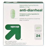 up & up up&up Loperamide Anti-Diarrheal Caplets - 24 Count