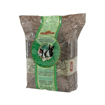 Sunaturals Sun Seed Company SSS88040 Sunnatural Select Spring Harvest Small Animal Timothy Hay, 16-Ounce