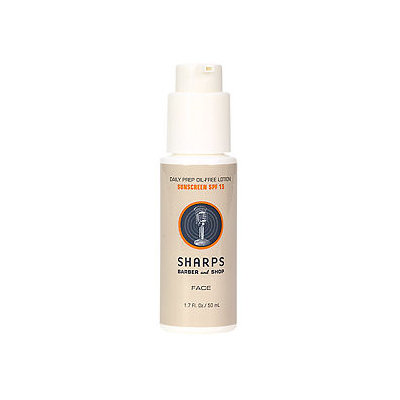 Sharps Barber and Shop Daily Prep Oil-Free Lotion SPF 15