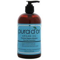 Pura D'or Gray Hair Prevention Premium Organic Shampoo (16 Ounce)