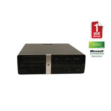 Joy Systems, Inc HP DX2810 Refurbished Small Form Factor PC C2D-2.33/2GB/80GB/DVD/W7HP