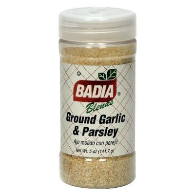 Badia, Garlic Parsley Grnd, 5 OZ (Pack of 12) ( Value Bulk Multi-pack)