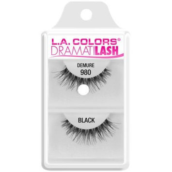 L.A. Colors Dramatilash Demure False Eyelashes