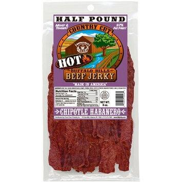 Buffalo Bills Premium Snacks Buffalo Bills 8oz Chipotle Habanero Country Cut Beef Jerky Pack