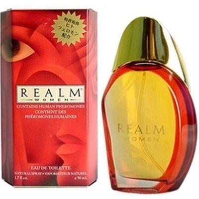 Erox Realm Women by Realm EDT Spray 1.7 oz