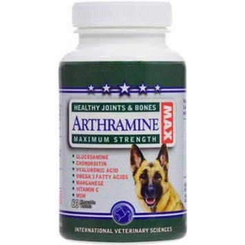 International Veterinary Sciences Arthramine Healthy Joints & Bones (Sm/Med Breed) Chewable Tablets 60 ct