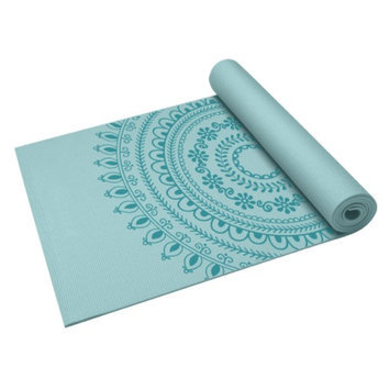 Gaiam 5mm Marrakesh Yoga Mat, 1 ea
