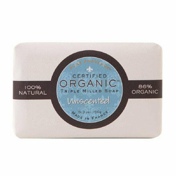 Pure Provence Bar Soap Organic Unscented 5.3 oz