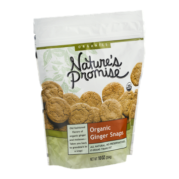 Nature's Promise Organic Ginger Snaps