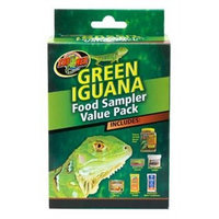 Zoo Med Laboratories SZMFSP4 Green Iguana Food Sampler