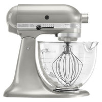 KitchenAid Artisan Design Series 5 Qt Stand Mixer- Sugar Pearl Silver