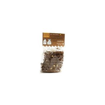 Dancing Deer Shortbread Cookies Triple Chocolate Chip -- 9 oz
