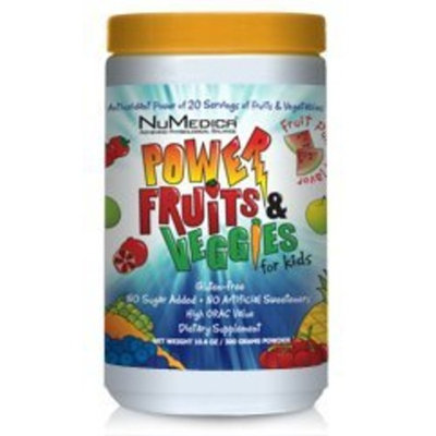 NuMedica Power Fruits and Veggies for Kids 300 Grams