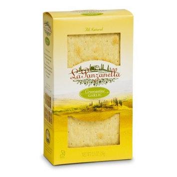 La Panzanella Garlic Croccantini Box, 5-Ounce Boxes (Pack of 12)