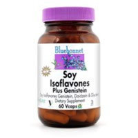 Bluebonnet Nutrition Soy Isoflavones Plus Genistein, 30VC (Pack of 2)