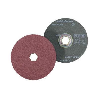 Pferd Pferd - Combiclick Aluminum Oxide Fiber Discs Combiclick Fiber Disc aluminum Oxide A: 419-40115 - combiclick fiber disc aluminum oxide a (Set of 10)