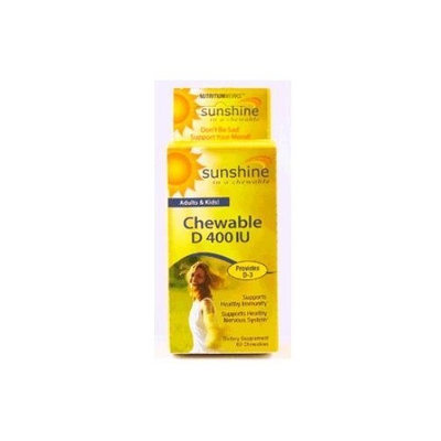 Windmill Health Products Chewable Vitamin D -- 400 IU - 60 Chewables