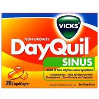 Vicks DayQuil Sinus LiquiCaps